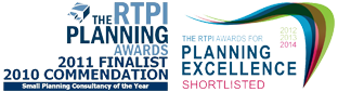 The RTPI Planning Awards 2009 and 2010 Finalists