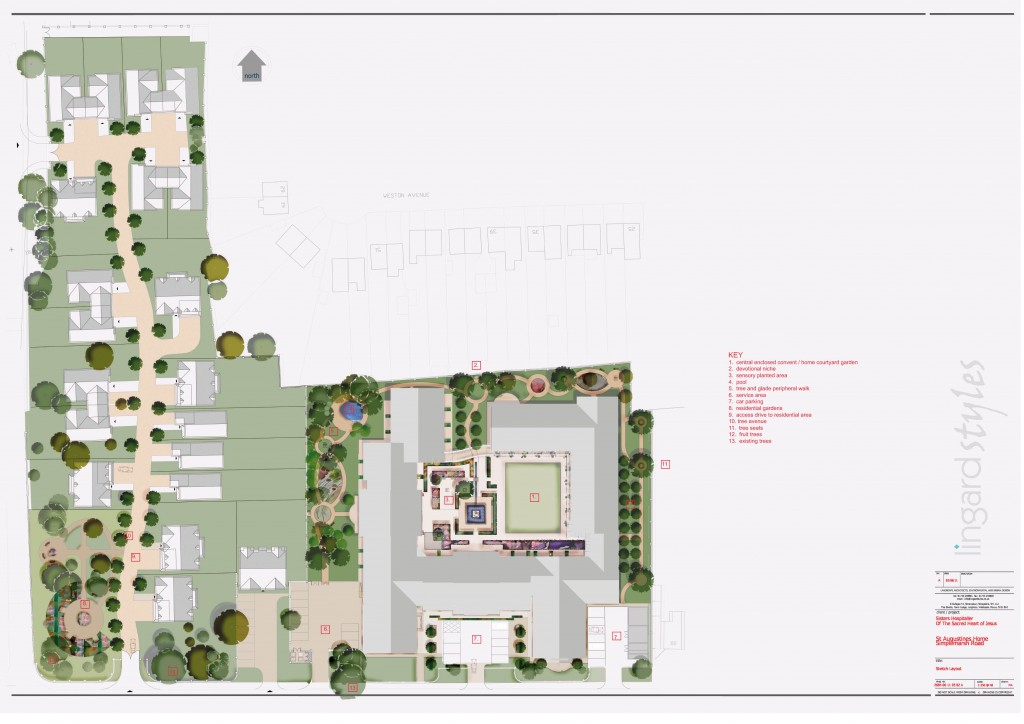 St augustine s care home public consultation exercise now for Site plan with landscape