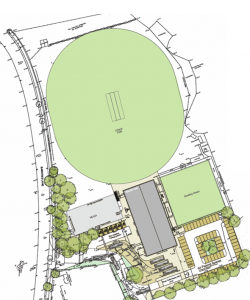 Sport Facility Site Plan